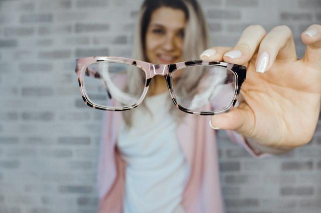 okulary indeksowe pocieniane wOptyka Victoria